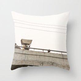 Agra Overpass Throw Pillow