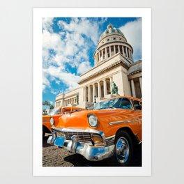 Street of Havana, Cuba Art Print