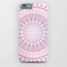 Rose White Mandala Slim Case iPhone 6s