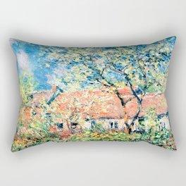 Springtime at Giverny Rectangular Pillow