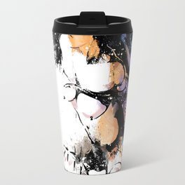Shibari - Japanese BDSM Art Painting #7 Travel Mug