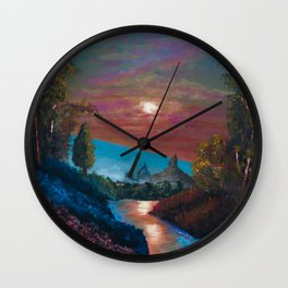 The Last Twilight Wall Clock