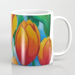 Frame Tulips Coffee Mug