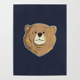 Happy Bear Poster