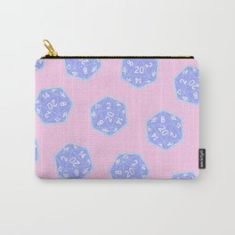 Twenty Sided Dice Pattern Carry-All Pouch