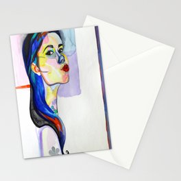 My Lipgloss Be Poppin' Stationery Cards