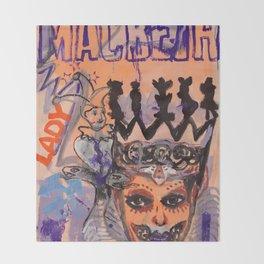Lady Macbeth Throw Blanket