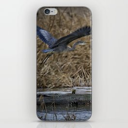 Flight of the Heron No. 1 iPhone Skin