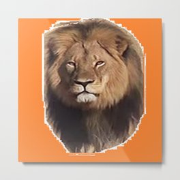 Cecil the Great Metal Print