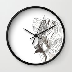 EL hombre pájaro Wall Clock