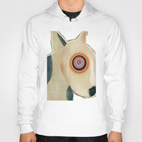 bull terrier Hoodies featuring bull terrier days by bri.buckley