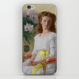Olga Nikolaevna, 1910 - Colorized iPhone Skin