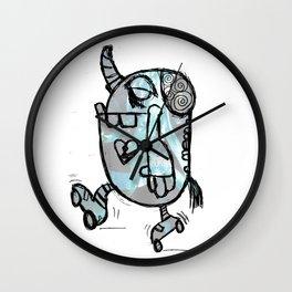 Skating through life Wall Clock