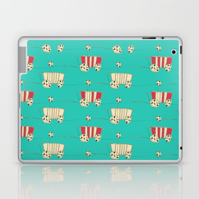 wozy_turq Laptop & iPad Skin