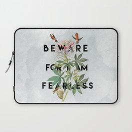 And Therefore Powerful Laptop Sleeve