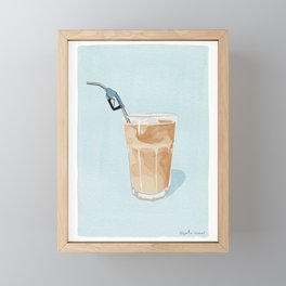 Fill Me Up Framed Mini Art Print