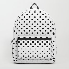 poka dot pixels Backpack