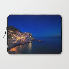 As the night falls over Manarola Laptop Sleeve