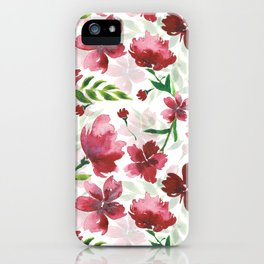 Melodramatic Floral iPhone Case