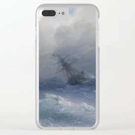 Ship in Storm Clear iPhone Case