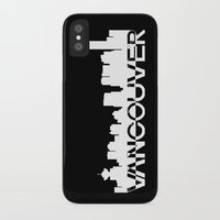 vancouver iPhone & iPod Cases featuring Vancouver  by Allison Kiloh