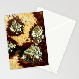 BUTTERFLY MAGNIFIED - ANTEROS FOMOSUS Stationery Cards