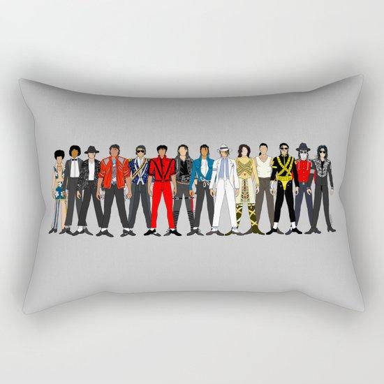 Outfits of King MJ Pop Music Rectangular Pillow