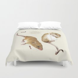 Harvest mice Duvet Cover