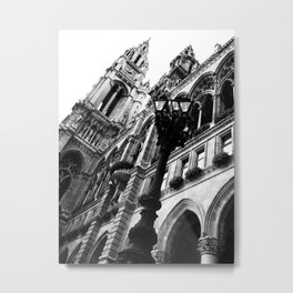 Opera at the Hall in Vienna Metal Print