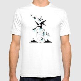 Origami's dream - A collaboration between Christelle Guilhen and Gwenola de Muralt - T-shirt