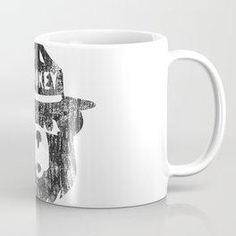 Smokey Bear Distressed Logo Coffee Mug