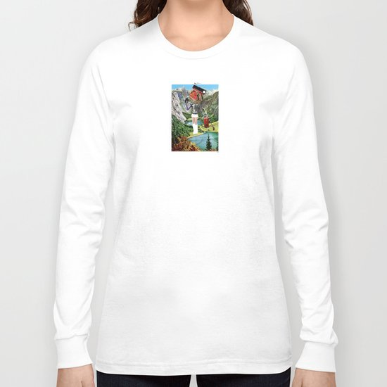 Holiday am KönigsSee 3 Collage Long Sleeve T-shirt