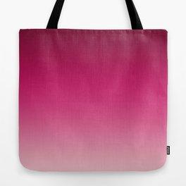 Millennial Pink Peacock Maroon Gradient Pattern Tote Bag