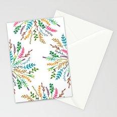 Radial Foliage Stationery Cards