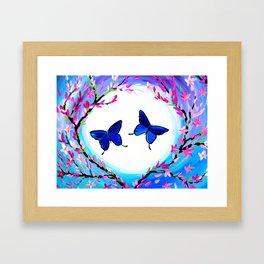 Butterfly Print Framed Art Print