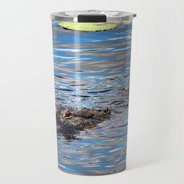 Summer Alligator Travel Mug