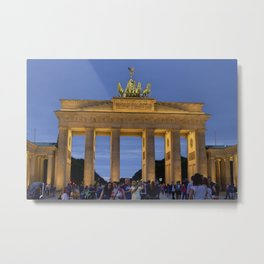 Berlin,Gate brandenburg Metal Print