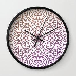 Decorative Pattern 2 Wall Clock