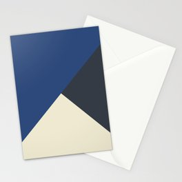 Origami Geo Tile // Blue tones // Mix + Match Stationery Cards