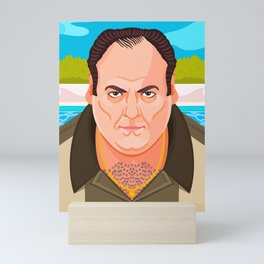 Tony Soprano Mini Art Print