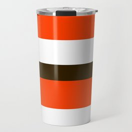 Football Cleveland Color Travel Mug