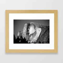 1/2 Dome Framed Art Print