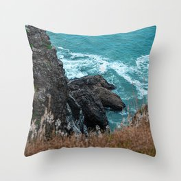 Clawed Crags Throw Pillow
