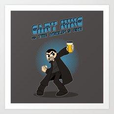 Gary King vs The World's End Art Print