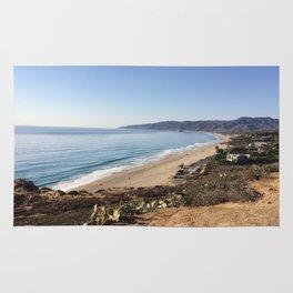 Malibu, California - Coastline Rug