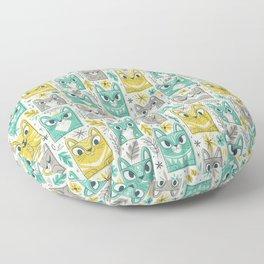 Tiki Kitty Floor Pillow