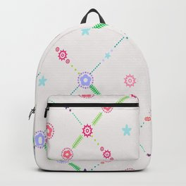 Itty-Bitty Floral Backpack