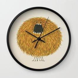 Poofy Wan Wall Clock