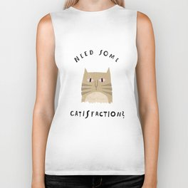 Catisfaction No. 8 Biker Tank