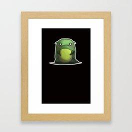 Cute monster Framed Art Print